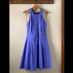 Rebecca Taylor periwinkle cutout dress